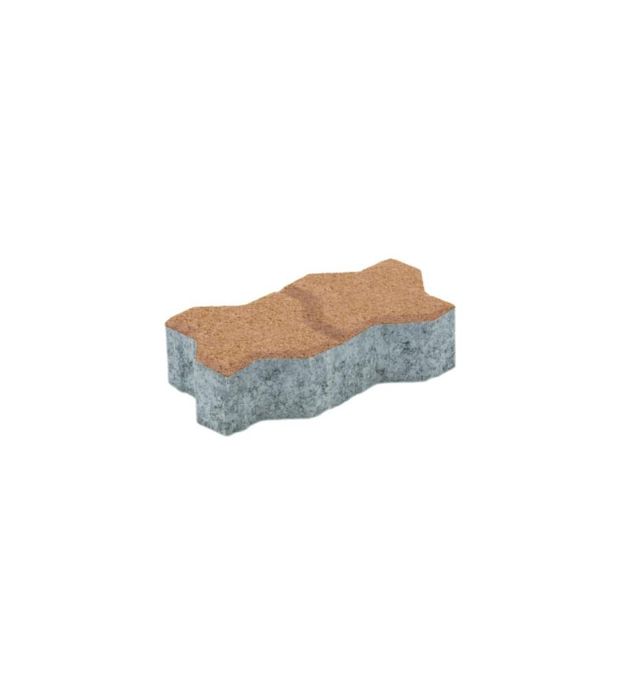 Pavaj Uniloc Crem Sahara 24.3x10.6x4 cm Elpreco