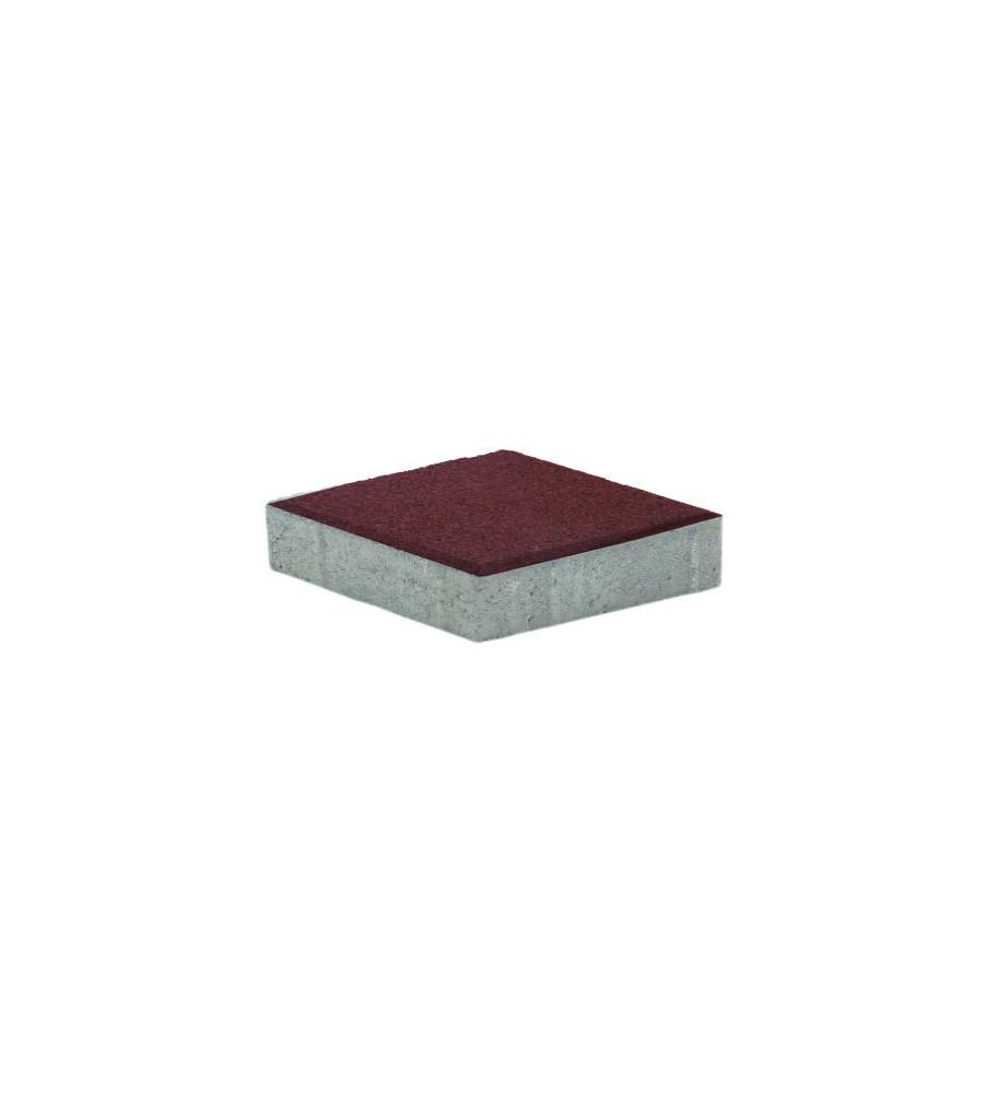 Pavaj Relief Rosu 20x20x5 cm Elpreco