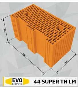 Căramidă EVOceramic 44 Super TH LM Cemacon