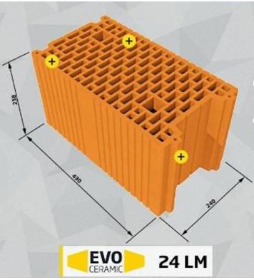 Căramidă Evoceramic 24 LM Cemacon