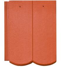 Tigla beton Bramac Reviva Rosu Caramiziu Protector