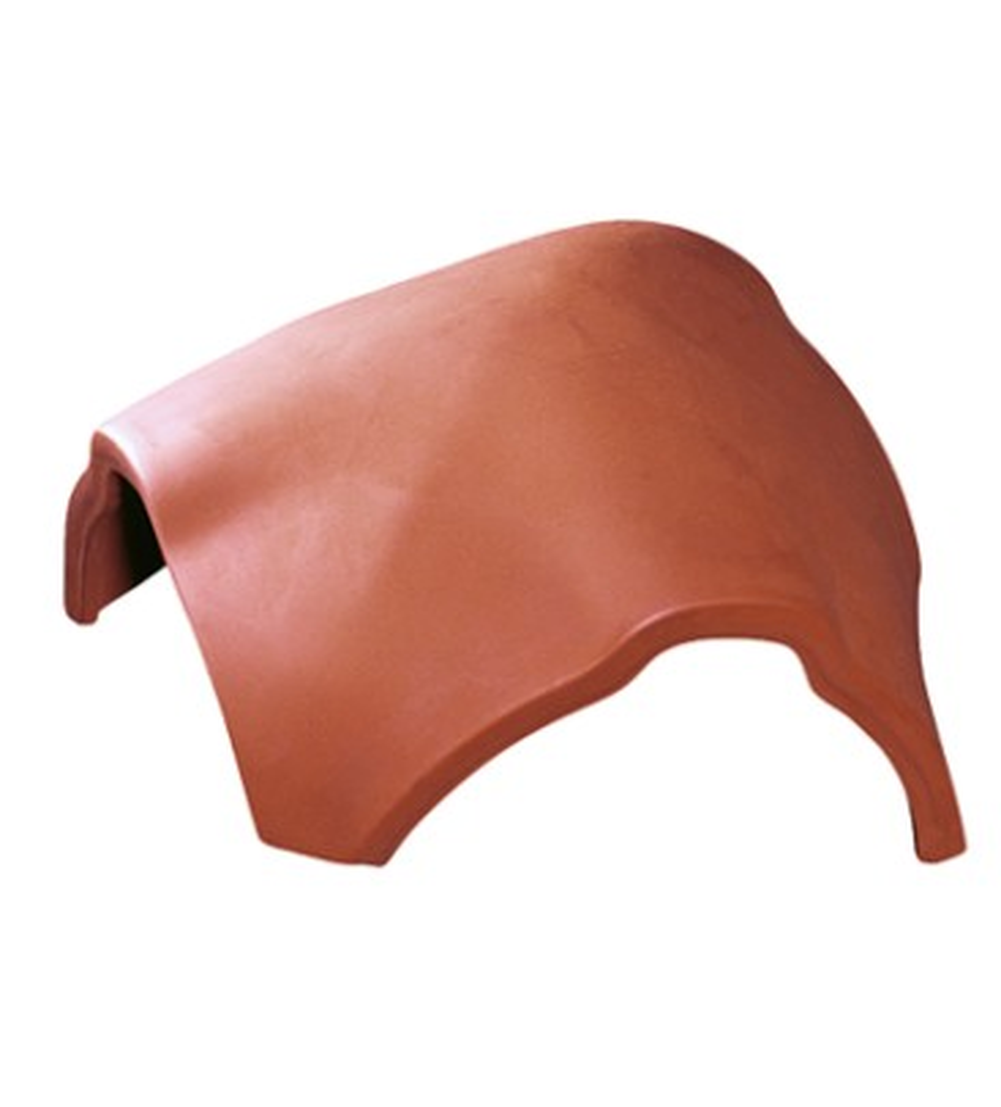 Țiglă de coamă de ramificație presată
