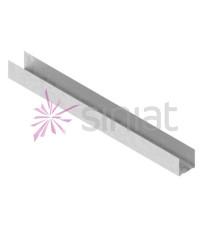 Profil pentru Gips Carton NIDA Metal 0.6mm UD 30x4000