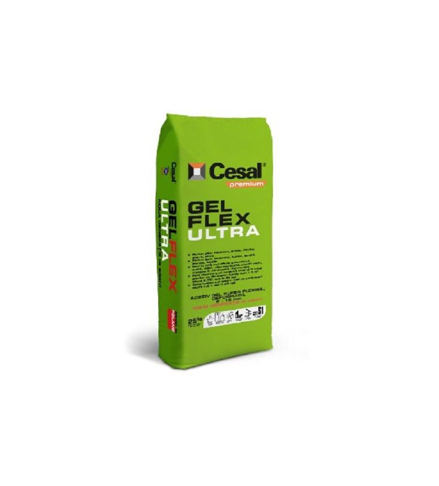 Adeziv Gresie-Faianta GELFLEX ULTRA CESAL